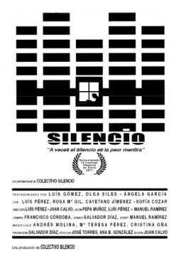 Silencio cortometraje cartel poster