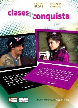 Clases de conquista cortometraje cartel poster