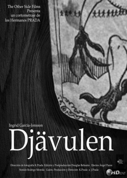 Djavulen cortometraje cartel poster