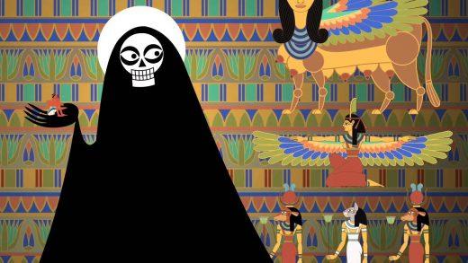 La muerte de los primogénitos egipcios. Cortometraje de animación
