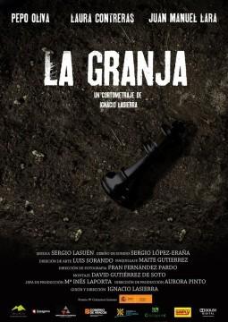 La granja cortometraje cartel poster