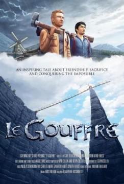 Le gouffre cortometraje cartel poster