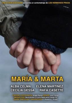 María & Marta cortometraje cartel poster