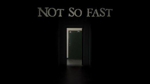 Not so fast. Cortometraje de Terror de David F. Sandberg