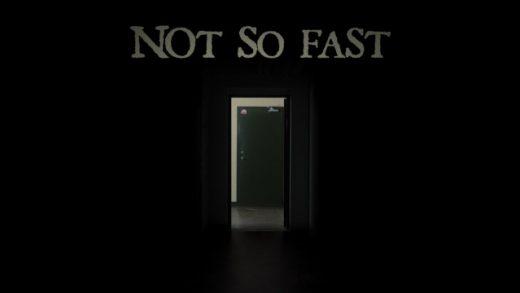 Not so fast. Cortometraje de Terror de David F. Sandberg