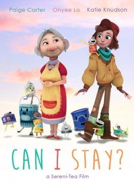 Can i Stay cortometraje cartel poster