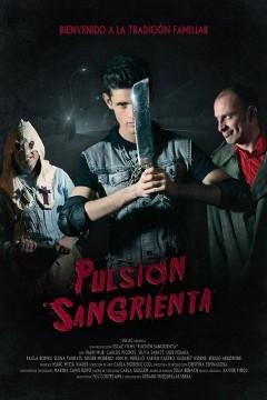 Pulsión sangrienta cortometraje cartel poster