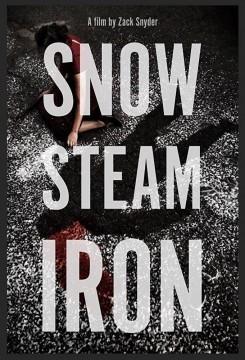 Snow steam iron cortometraje cartel poster