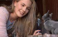 La gatita Bruja. The Kitten Witch. Cortometraje de James Cunningham