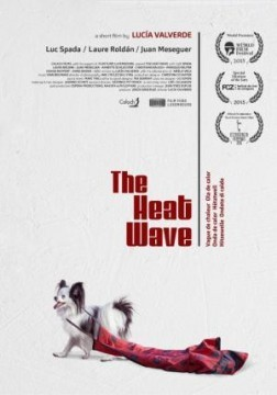 La ola de calor cortometraje cartel poster