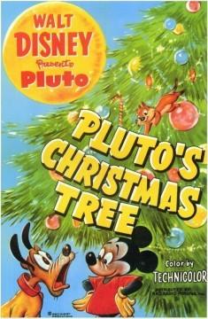 Mickey Mouse El árbol de Navidad de Pluto cortometraje cartel poster
