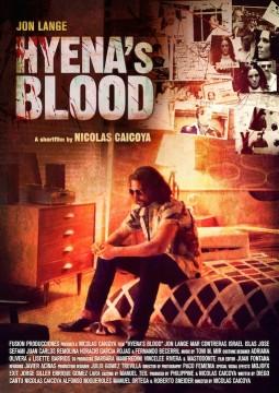 Hyenas blood cortometraje cartel poster