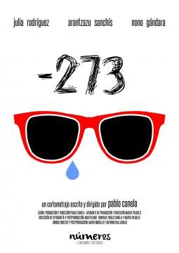 Numeros -273 cortometraje cartel poster