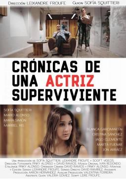 Cronicas de una actriz superviviente webserie cartel poster
