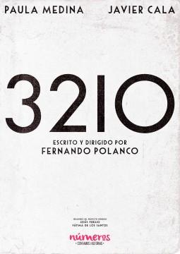 Numeros 3210 cortometraje cartel poster