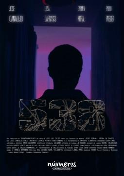 Numeros 538 cortometraje cartel poster