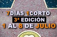 Queda un mes para la Tercera edición de 7 días 1 Corto