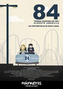 Numeros 84 cortometraje cartel poster
