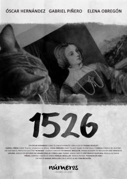 Numeros 1526 cortometraje cartel poster