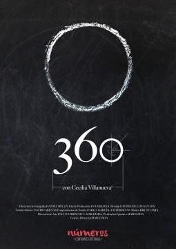 Numeros 360 cortometraje cartel poster