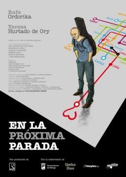 En la proxima parada cortometraje cartel poster