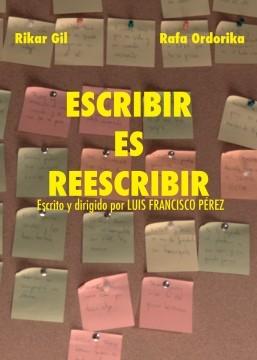 Escribir es reescribir cortometraje cartel poster