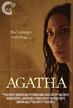 Agatha cortometraje cartel poster
