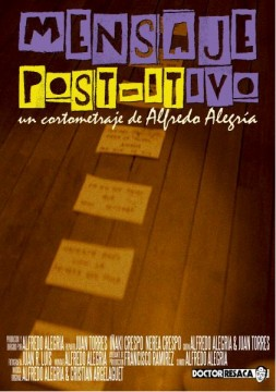 Mensaje Post-itivo cortometraje cartel poster