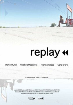 Replay corto cartel poster