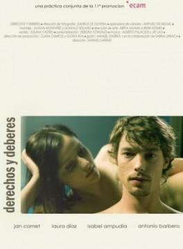 Derechos y deberes cortometraje cartel poster