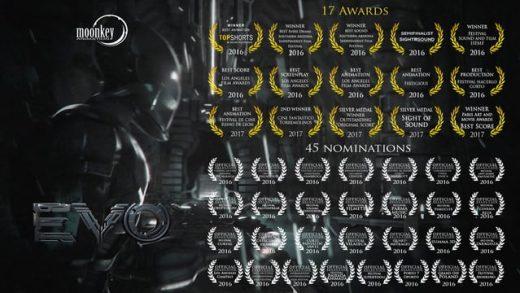 EVO. Cortometraje español de animación y ciencia-ficción