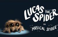 Lucas the Spider – Musical Spider. Cortometraje animación Joshua Slice