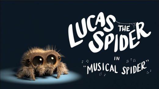 Lucas the Spider - Musical Spider. Cortometraje animación Joshua Slice