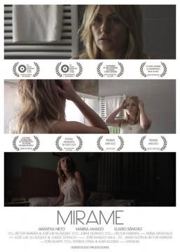 Mirame cortometraje cartel poster