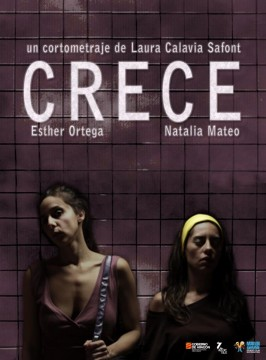 Crece cortometraje cartel poster