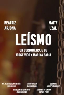 Leismo cortometraje cartel poster
