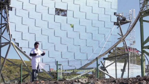 Antenas Modernas. Cortometraje de Javier Botet y Alberto Carpintero