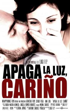 Apaga la luz cariño cortometraje cartel poster