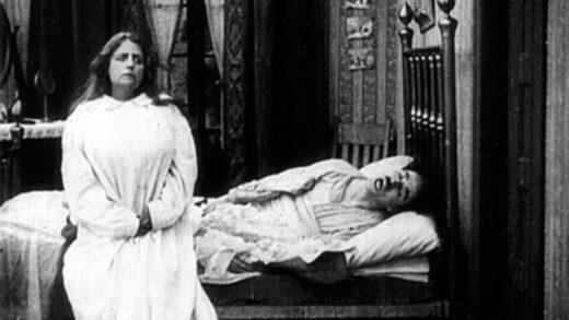 Charlot y la sonámbula. Cortometraje de cine mudo de Charles Chaplin