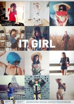 It Girl cortometraje cartel poster