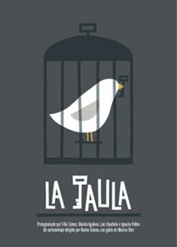 La jaula corto cartel poster