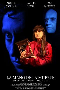La mano de la muerte cortometraje cartel poster