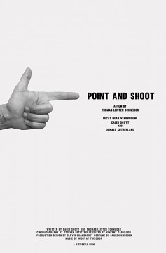 Point and shoot cortometraje cartel poster