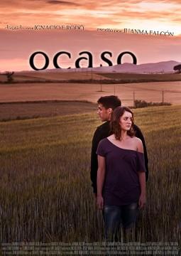 Ocaso cortometraje cartel poster