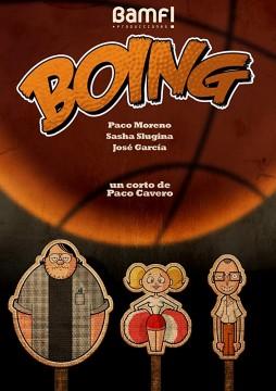 Boing cortometraje cartel poster