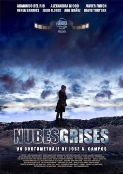 Nubes grises cortometraje cartel poster