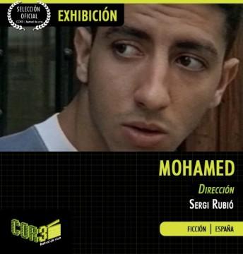 Mohamed cortometraje cartel poster
