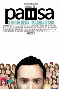 Pausa cortometraje cartel poster