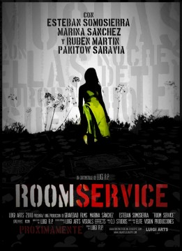 Room Service cortometraje cartel poster