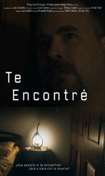 Te encontre cortometraje cartel poster